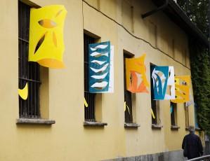 19/20 Maggio 2010 Installazione temporanea per il Parco dei Racconti in occasione di via Padova è meglio di Milano, a cura di Associazione Amici del Parco Trotter.